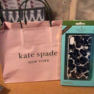 Kate Spade Comold Case Black IPhone XS Max NIP